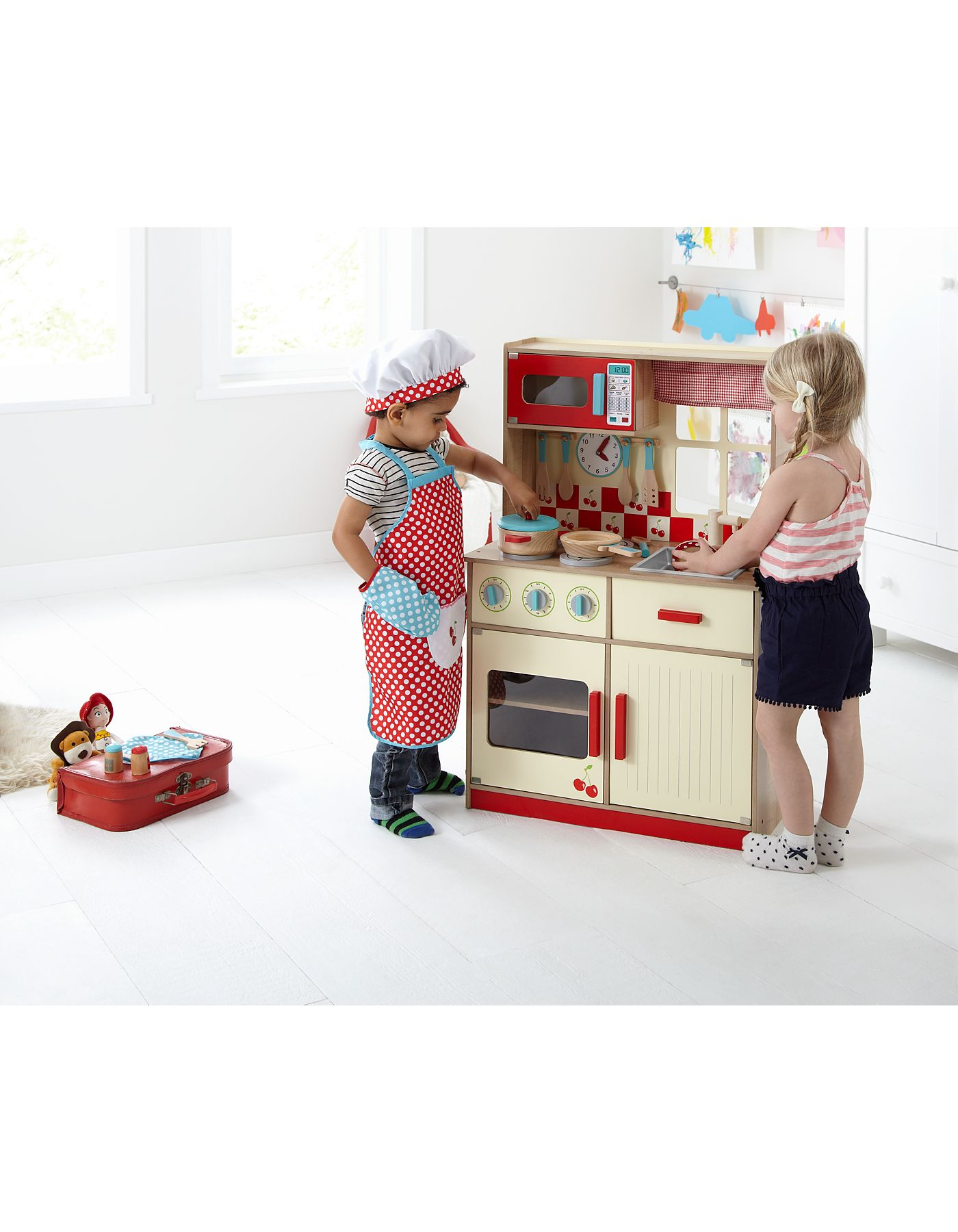 Home Deluxe Wooden Kitchen Up To 3 Years ASDA