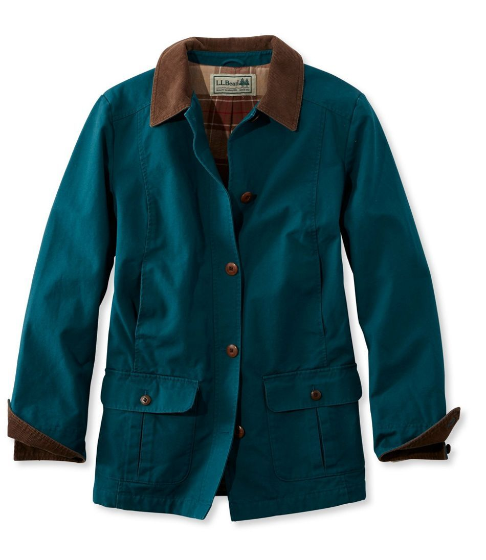 Women's Adirondack Barn Coat, Flannel-Lined | Barn coat ...