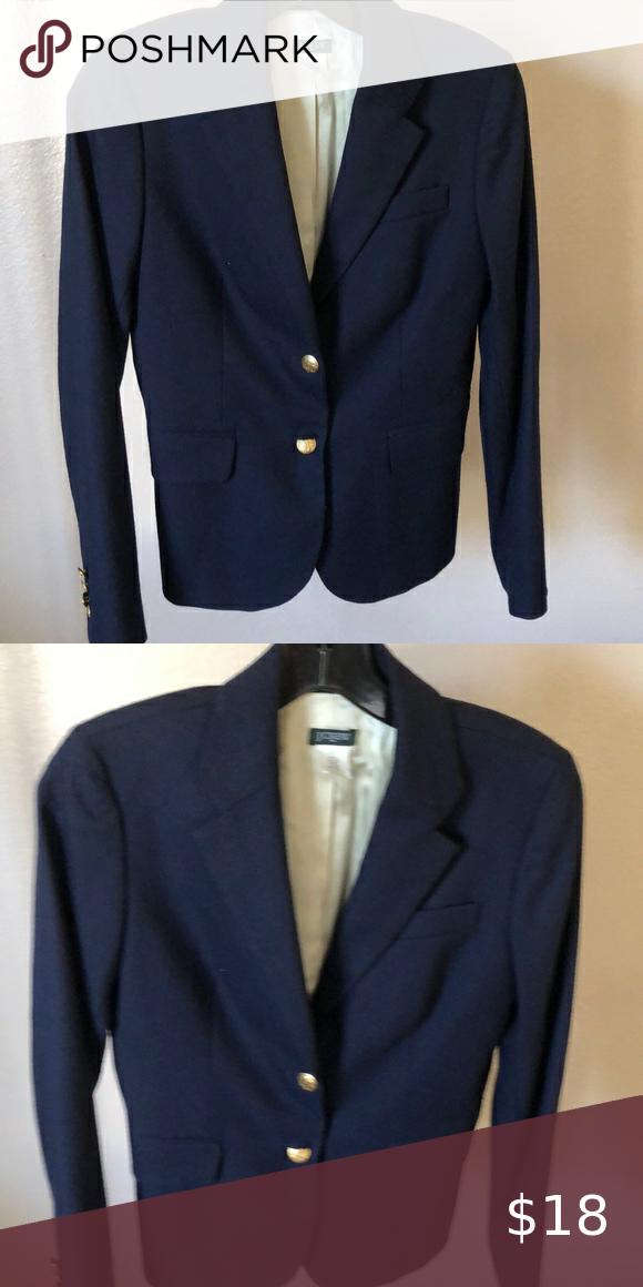 J Crew NavyBlue Blazers Good condition J. Crew Jackets & Coats Blazers & Suit Jackets