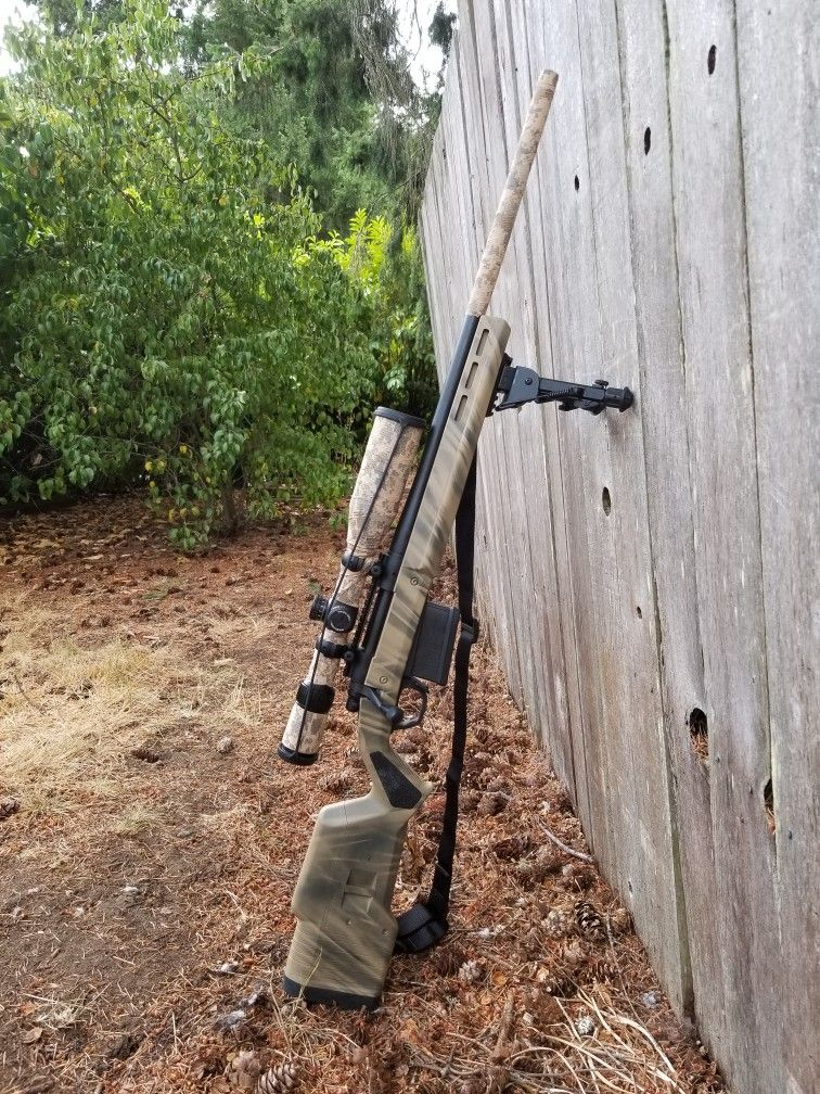 300 win mag Remington 700 Magpul Hunter, Vortex Diamondback