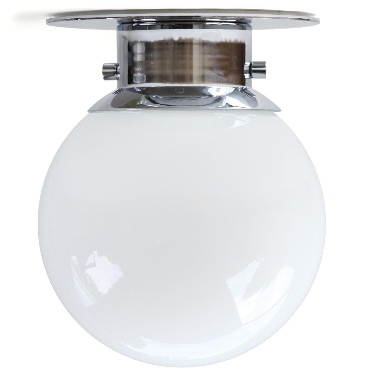 Globus Kugel Deckenleuchte Badleuchte Decke Lampe Lampe Kugel Badezimmer Chrom