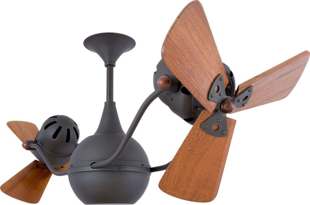 Ceiling Fan Gorgeous Dual Head Ceiling Fan: Matthews Fan Co Vent Bettina Wood  Ceiling Fan