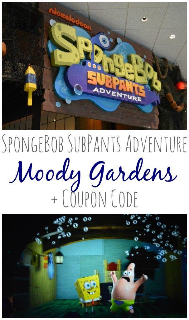 Moody Gardens: SpongeBob SubPants Adventure + Coupon Code #ImmerseYourself  #SubPants #ChooseYourOwnAdventure #sponsored   My Big Fat Happy Life
