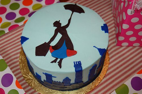 Mary Poppins Cake by greg.us, via Flickr