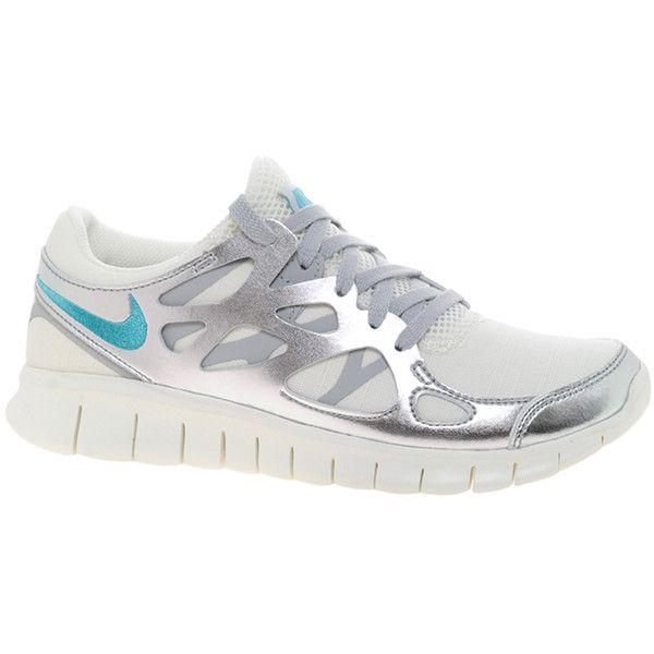 Nike Free Run 2 Prm Ext Silver Sneakers $144 | new york