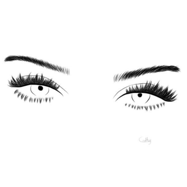 art  noir et blanc  dessin  dessins  sourcils  yeux  kendall jenner  mod u00e8le
