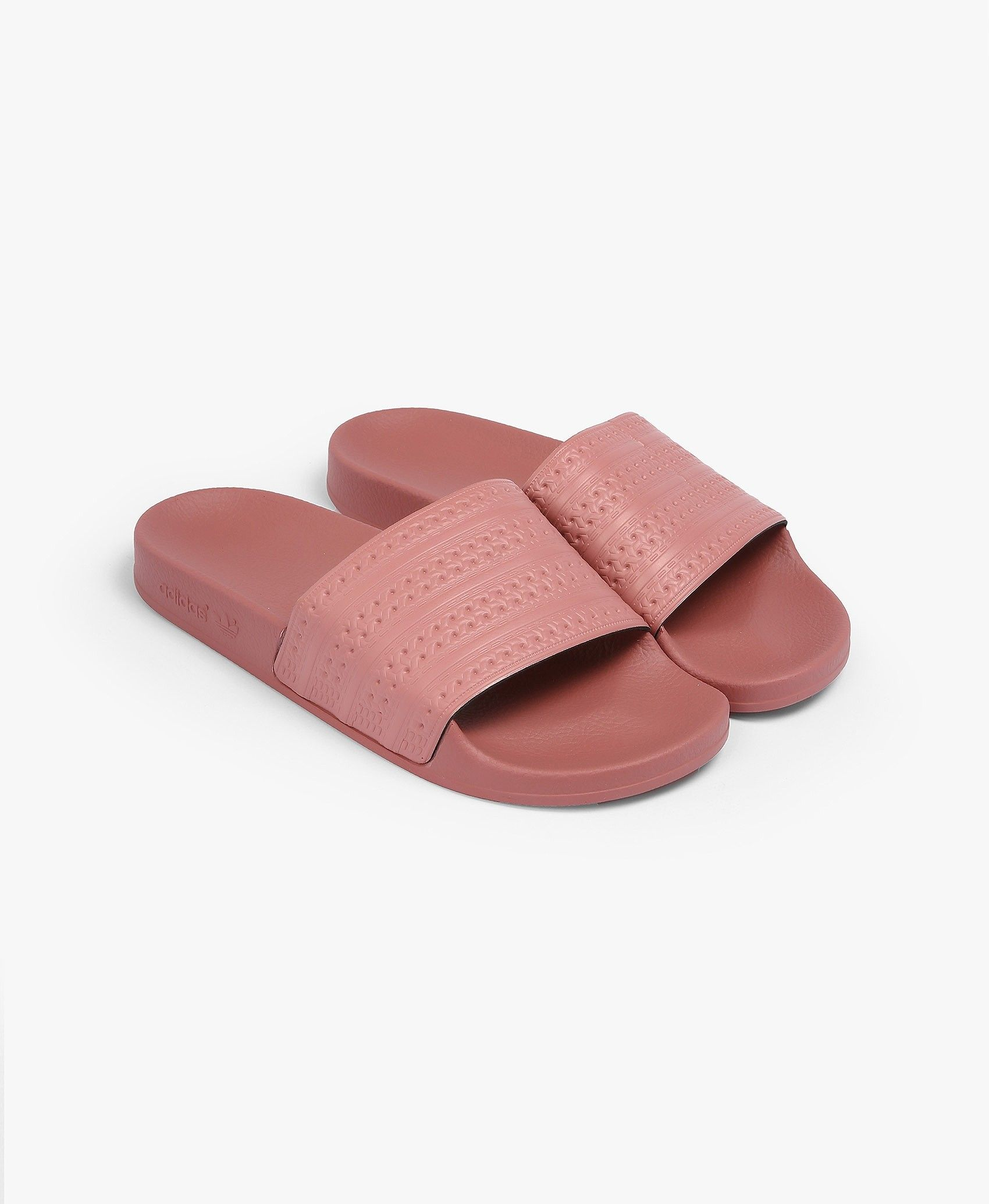 Dusty Pink Adilette Slides - Sports