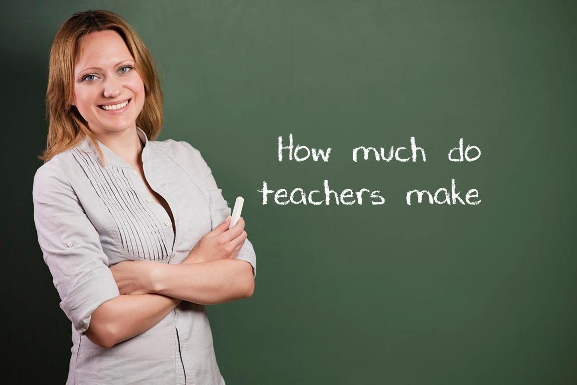 How Much Do Teachers Make? Jobs for teachers, Teacher