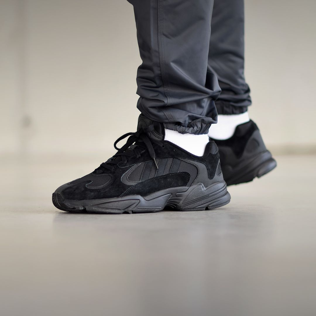 adidas Yung-1 Triple Black . Available
