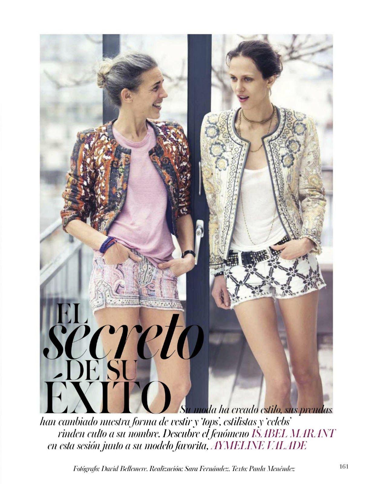 Marant - El secreto de su exito: aymeline Valade by David Bellemere for Vogue Spain june 2013