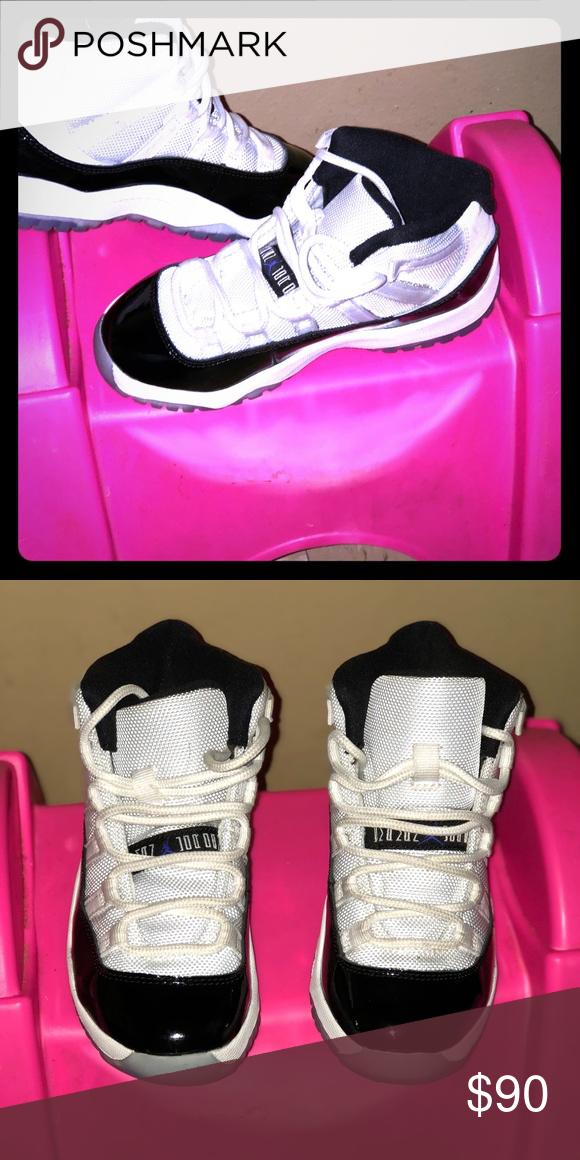 108511ba Kids Jordan retro 11 Jordan retro 11 kids (worn once) Jordan Shoes ...
