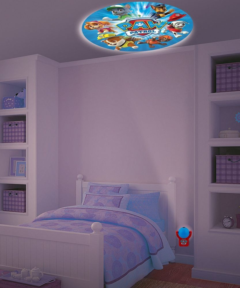 Nickelodeon Paw Patrol Projectables Led Plugin Night Light