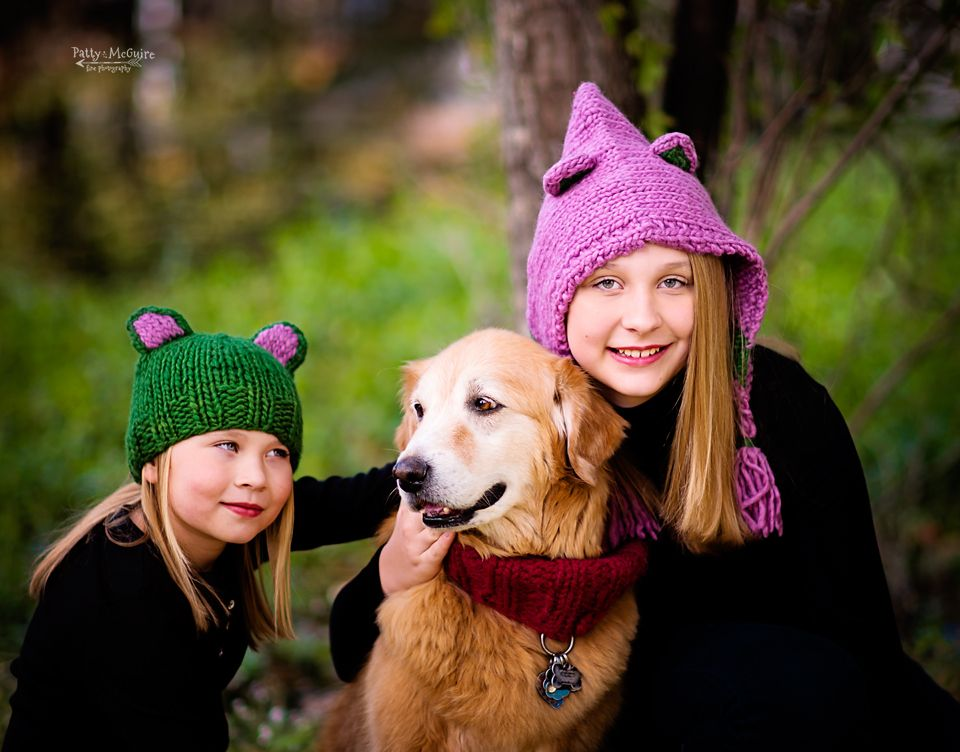 Cute Hats with mostly stockinette, really sweet knitting patterns