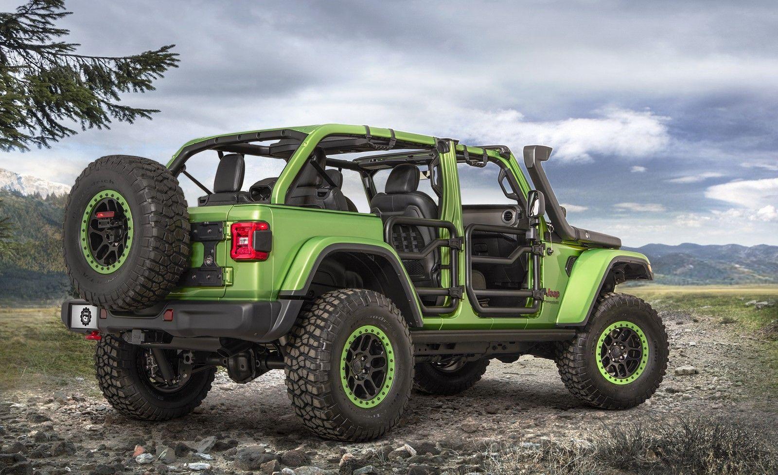 Mopar Jeep Jeep Wrangler Rubicon 2018 Jeep Wrangler Unlimited