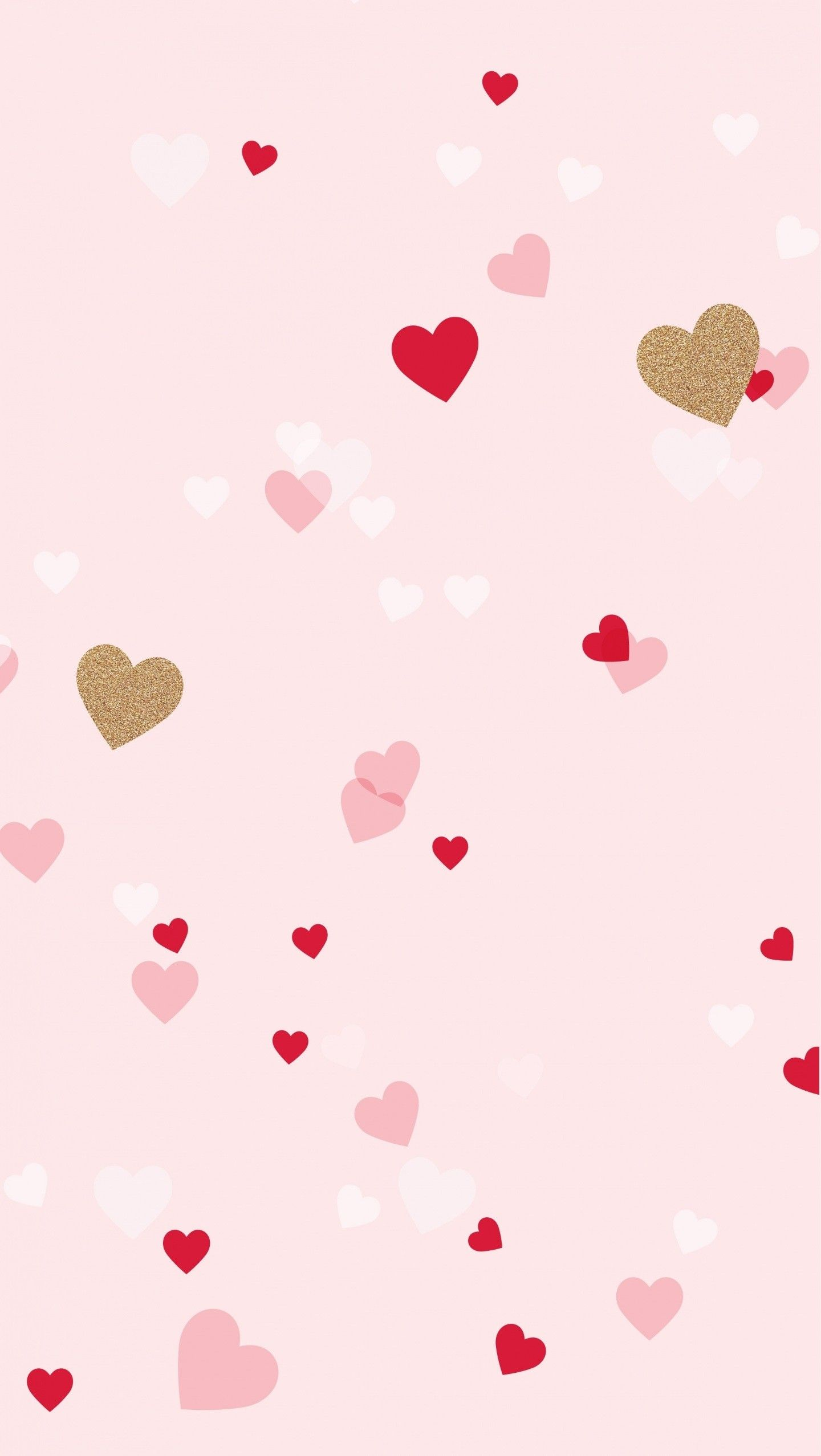 Background Cute Hd : background, Wallpaper, Iphone, Hearts, Background, Image, Girly,, Valentines, Wallpaper,, Tumblr