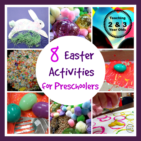Fun Easter Ideas For Toddlers And Preschoolers Teaching Two And