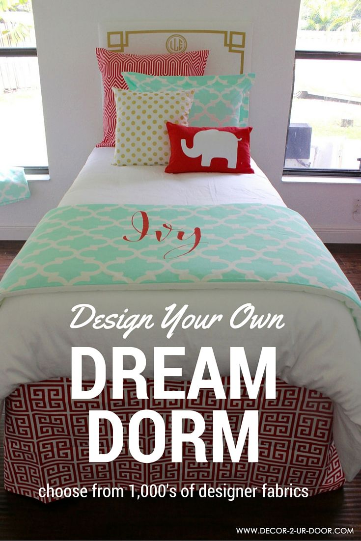 Interior Design Your Own Bedding design your own bedding choose from 1000s of designer fabrics dorm room