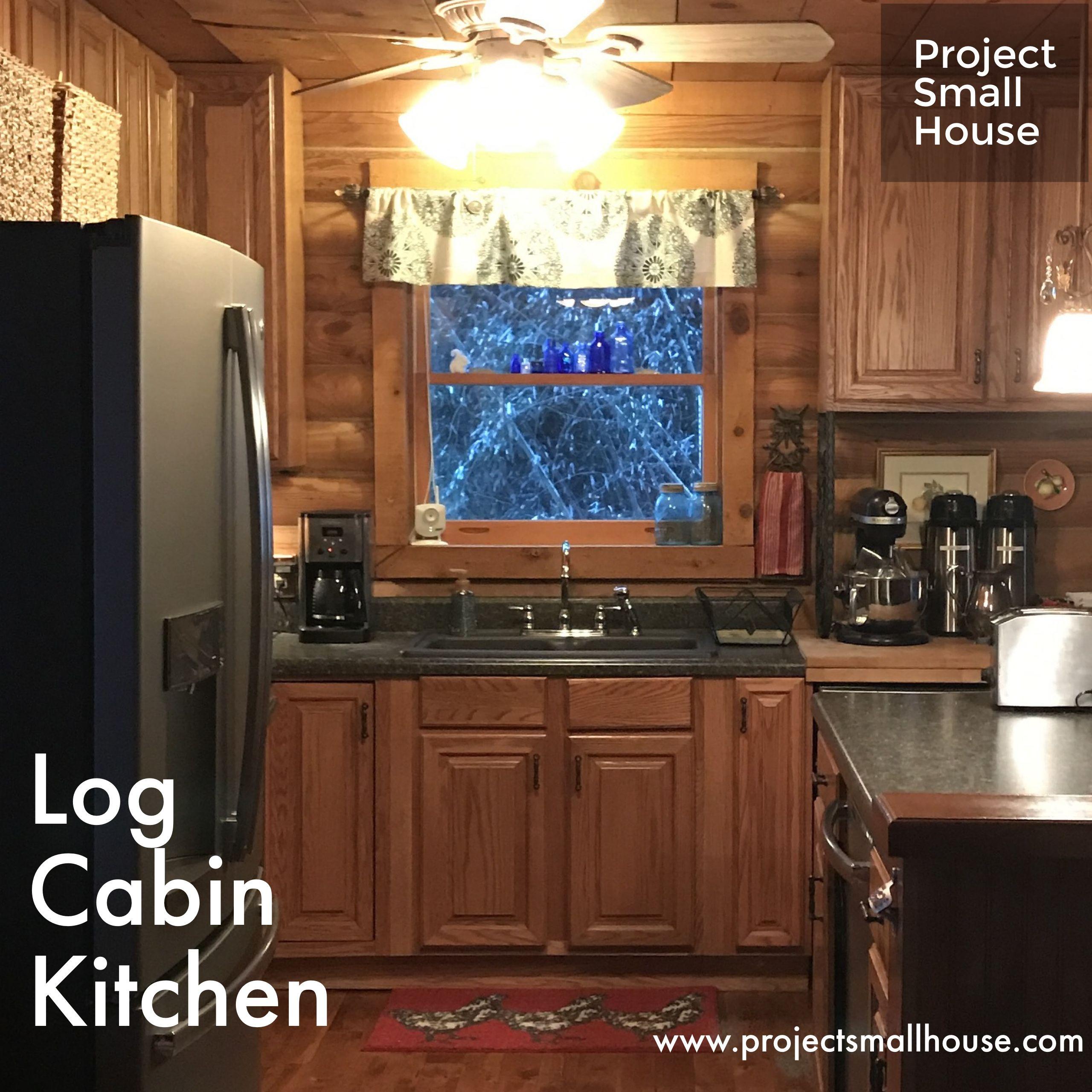 Project Log Cabin Kitchen Log Cabin Kitchens Cabin Kitchens Log Cabin Decor