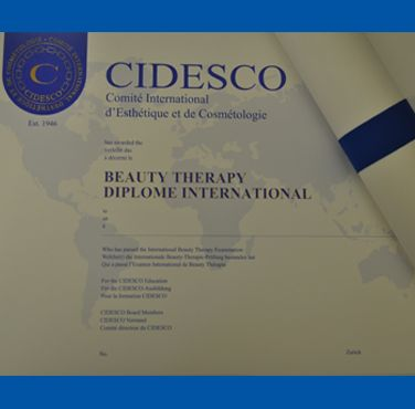 Cidesco Qualifications Beauty Therapy Cambridge School Qualifications