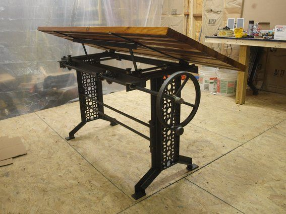 wooden drafting table - Google Search - Wooden Drafting Table - Google Search Living Room Pinterest