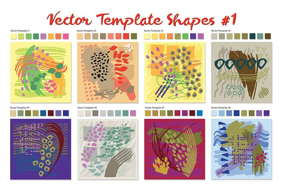 Photo of Vector Template Shapes #1 , #Sponsored, #perfect#product#design#Vector #affiliat…