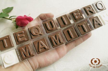 Flor de Cacao, Chocolates Artesanales, Trufas, Bombones, Mensajes en Chocolate, Bogotá , Colombia