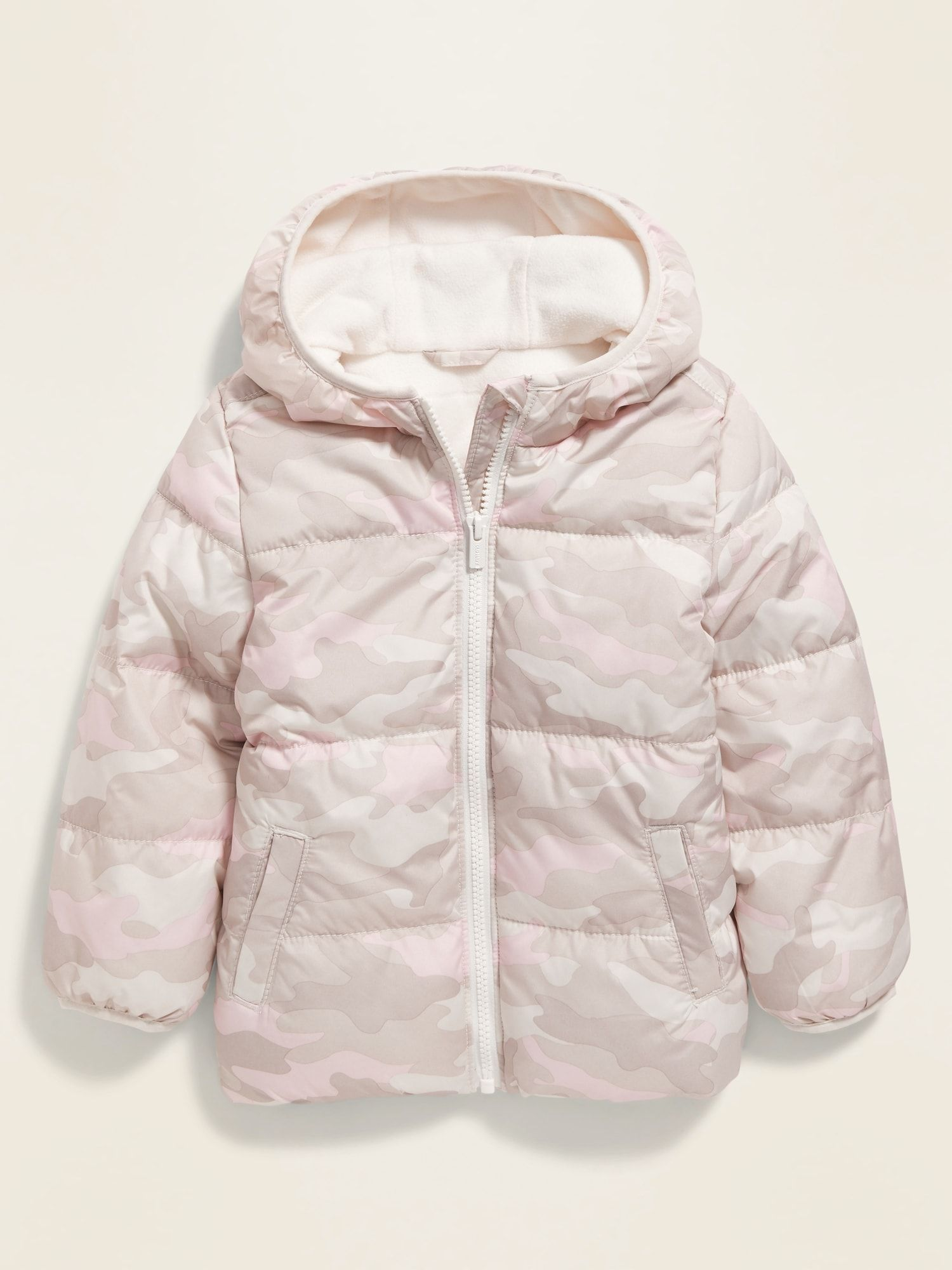 Old Navy Unisex Camo Print Frost Free Puffer Jacket For Toddler Pink Camo Size 3t Camo Print Puffer Jackets Jackets [ 2000 x 1500 Pixel ]