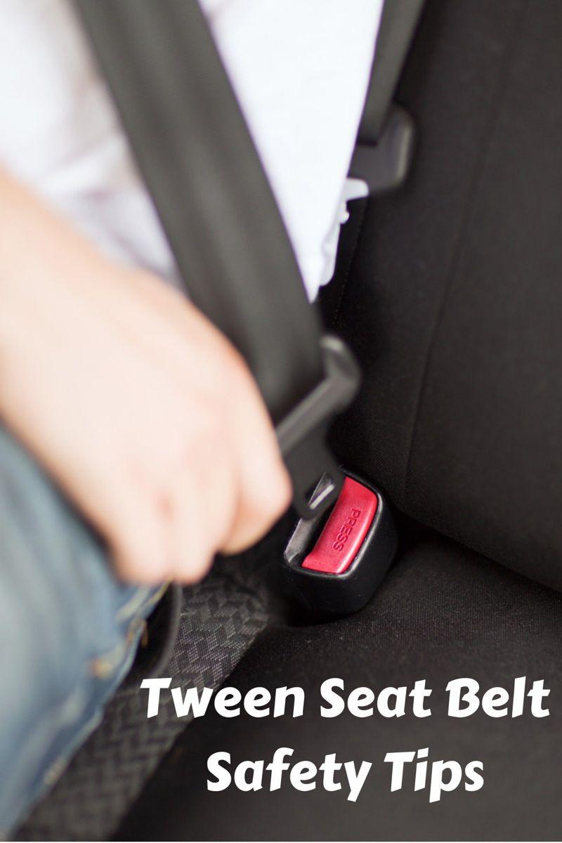 Seatbelt safety tips
