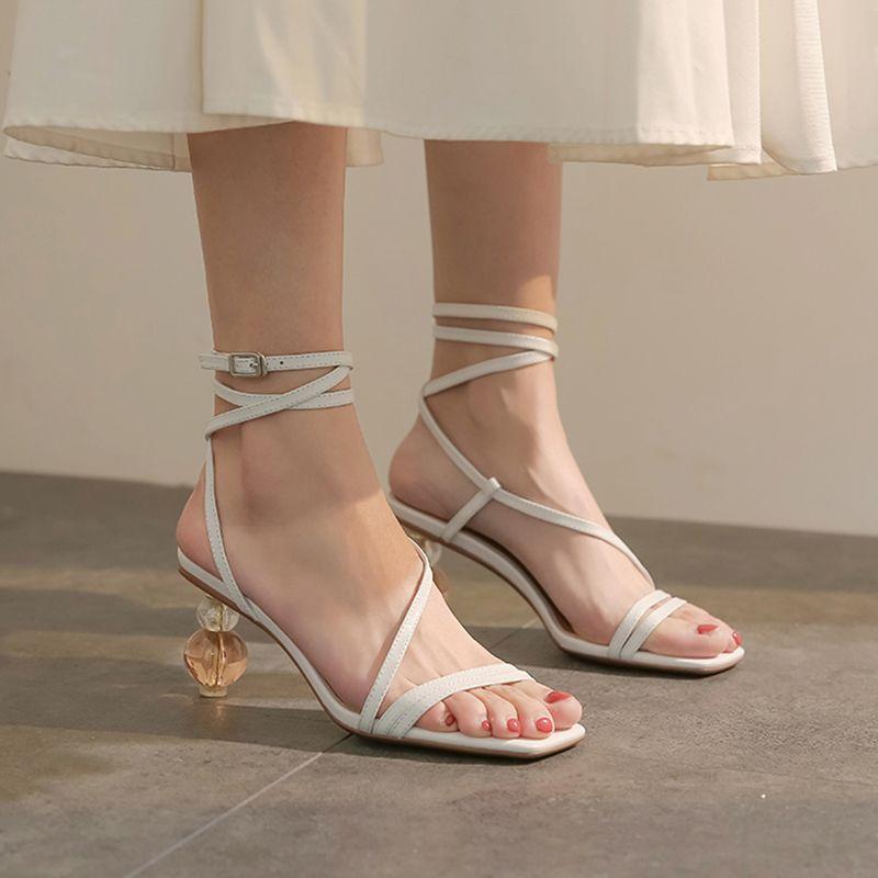 Chiko Enedina Square Toe Block Heels