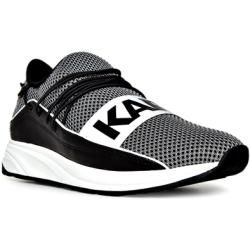 Photo of Karl Lagerfeld sneakers men, textile, black Karl LagerfeldKarl Lagerfeld