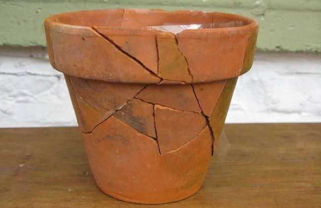Repurpose Broken Pots Double Duty Tips For Household