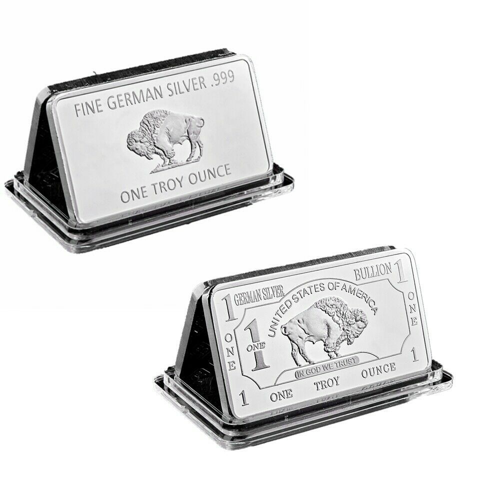 Silver Bar American Buffalo 1oz 999 Fine Bullion Collection Silver Bar Silver Bars Bullion Silver