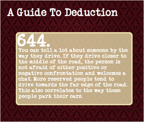 a guide to deduction sherlock