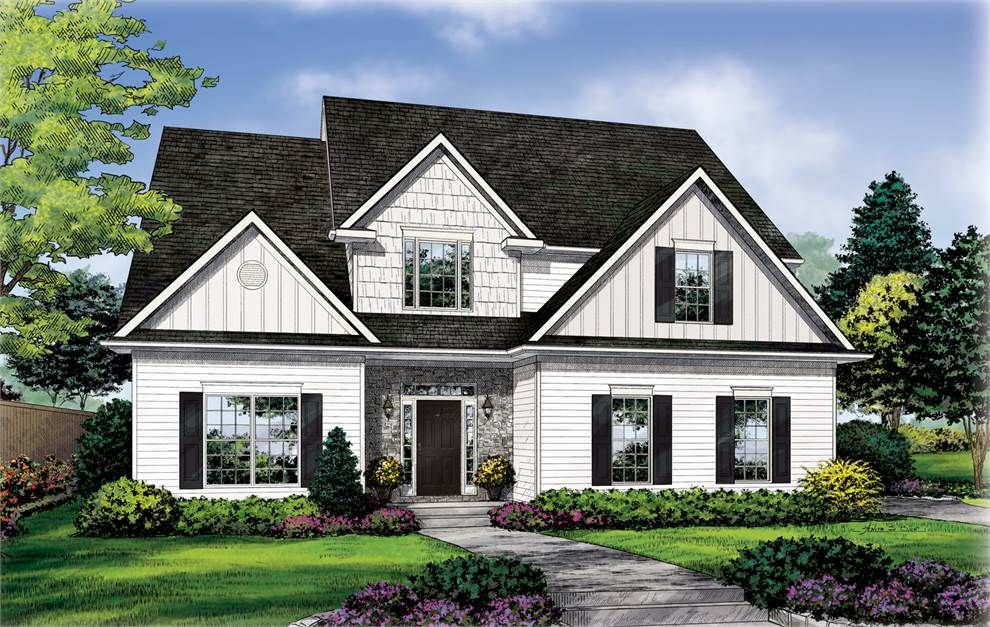 the Melbourne A House plans, Custom home plans, House styles