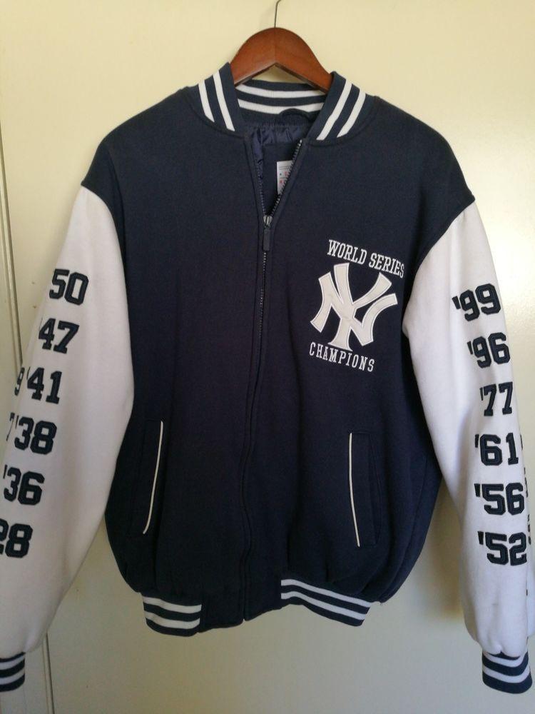 Vintage New York Yankees World Series Championships Jacket Medium