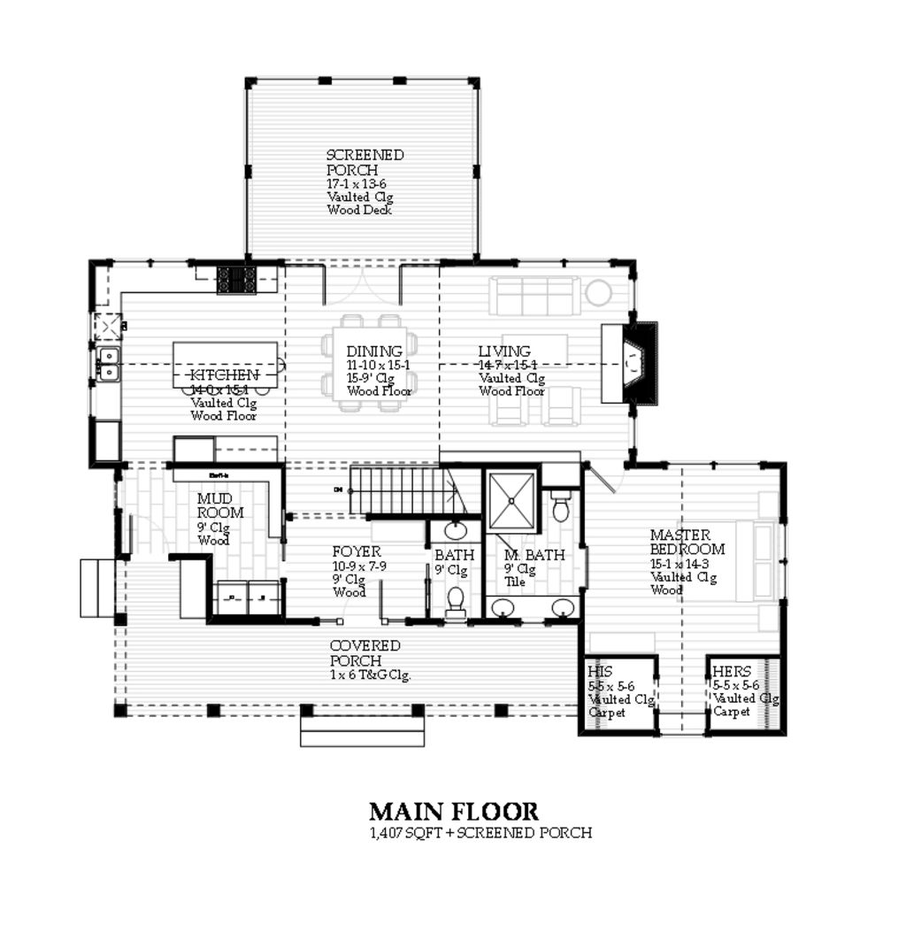 Farmhouse Style House Plan 3 Beds 3 5 Baths 2597 Sq Ft