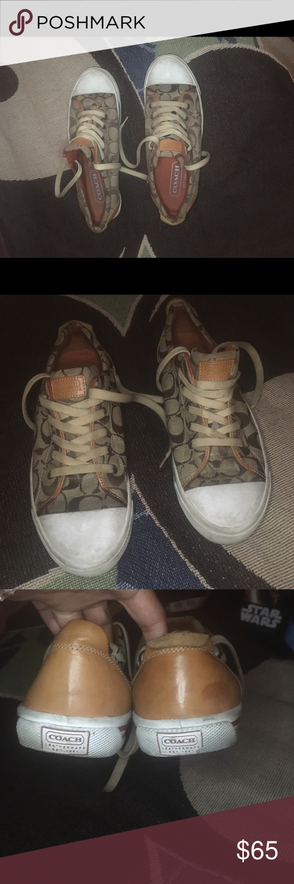 762e7885b ... netherlands vintage coach shoes vintage style purchased at macys size  10 very wearable havent wore in