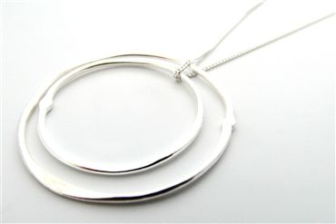N123 – Solstice Silver Necklace | La Jewellery