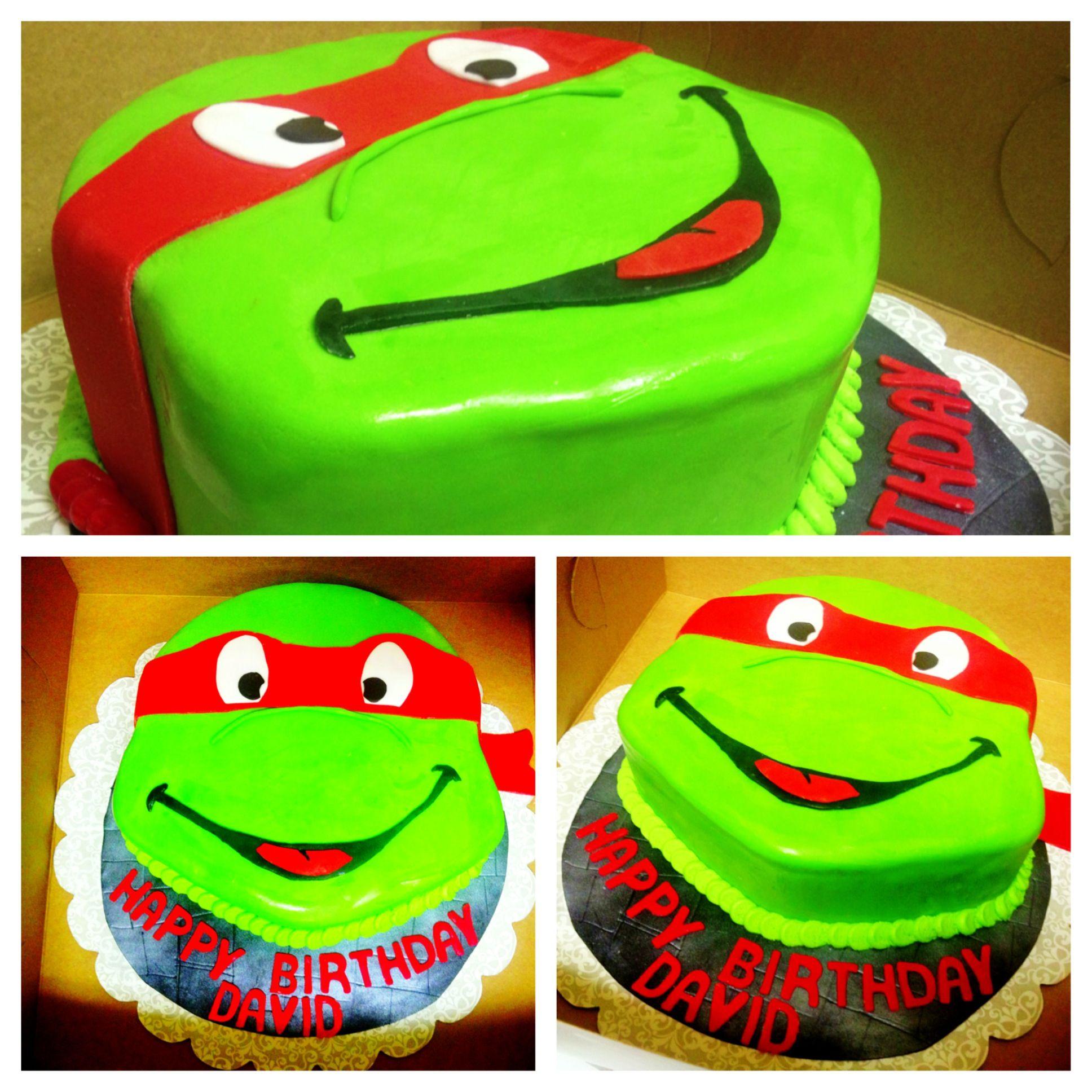 Teenage Mutant Ninja Turtles Cake Raphael Cake Dulces Creations