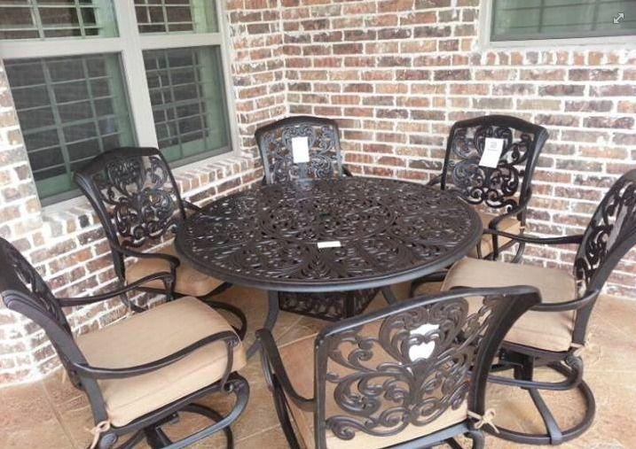 Hanamint S Chateau Dining Set Outdoor Dining Patio Furniture