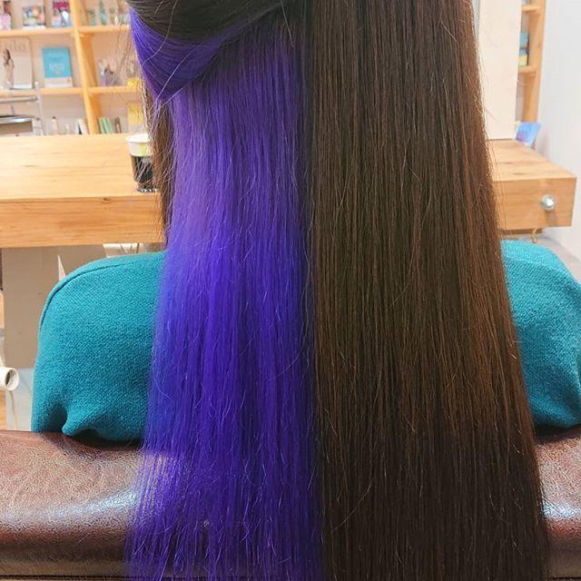 Hair おしゃれまとめの人気アイデア Pinterest Peyton Jones インナーカラー カラー ヘアカラー