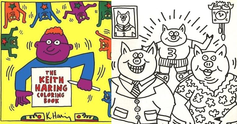 Keith Haring\'s surprisingly G-rated, very rare, very expensive ...