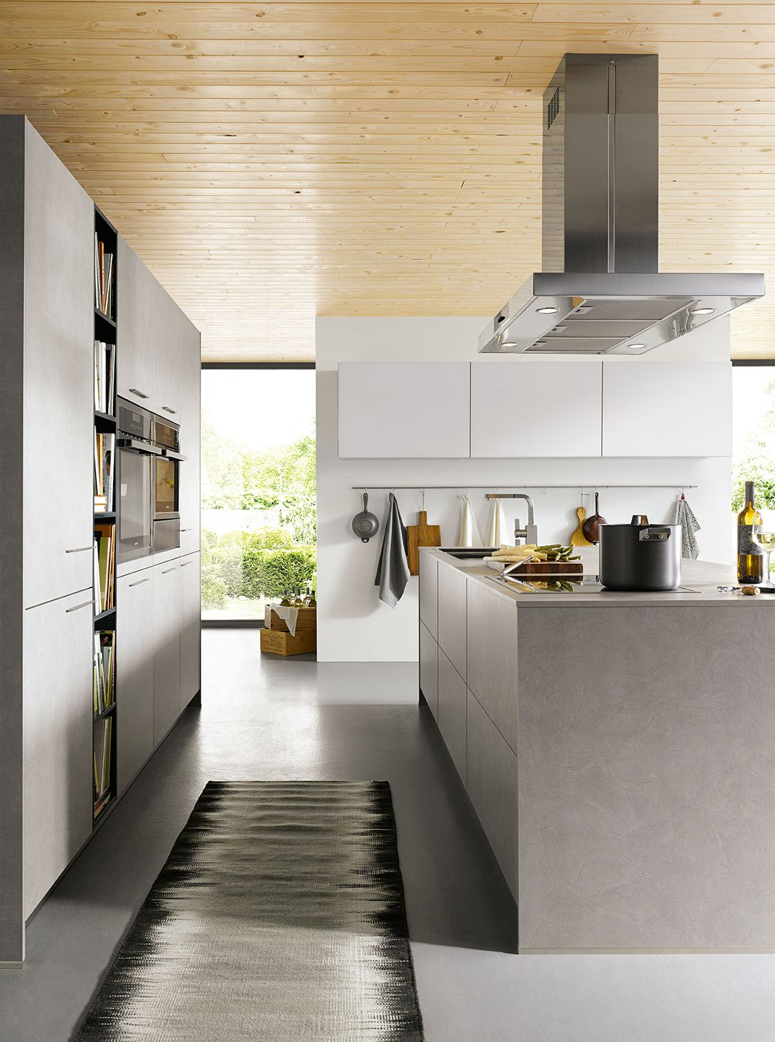 Grey Kitchens (With images) Handleless kitchen, Grey