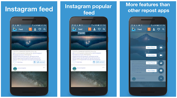 Best 8 Instagram Repost Apps For Android & iOS Users (Free