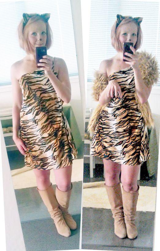 DIY Tiger Costume  sc 1 st  Pinterest & DIY Tiger Costume | Do-it-yourself | Pinterest | Tiger costume ...