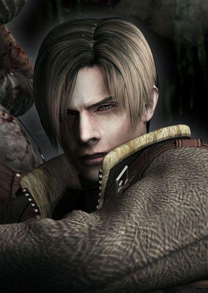 Leon S Kennedy Resident Evil 4 Desenhos De Super Herois
