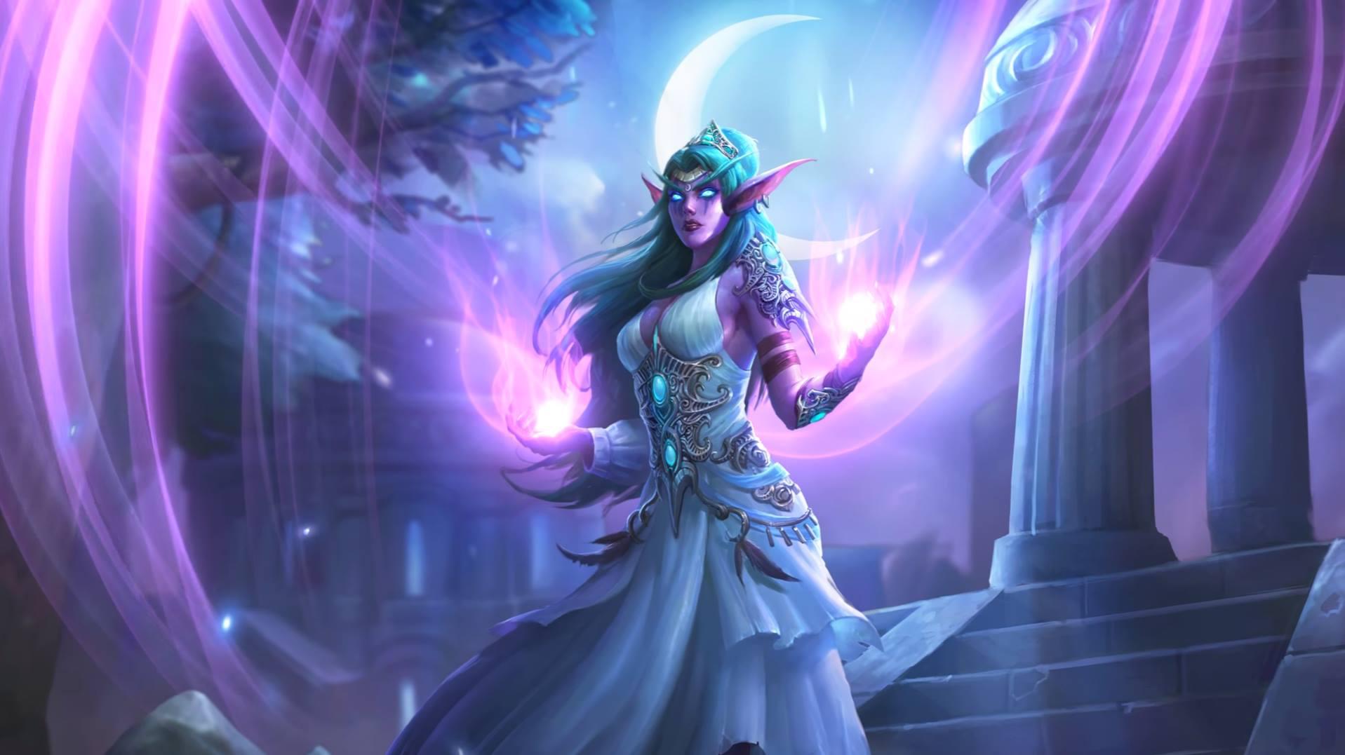 Hero Tyrande Whisperwind Artist Blizzard Entertainment World Of Warcraft Characters World Of Warcraft World Of Warcraft 3 Heroes of the storm beta developed by: hero tyrande whisperwind artist