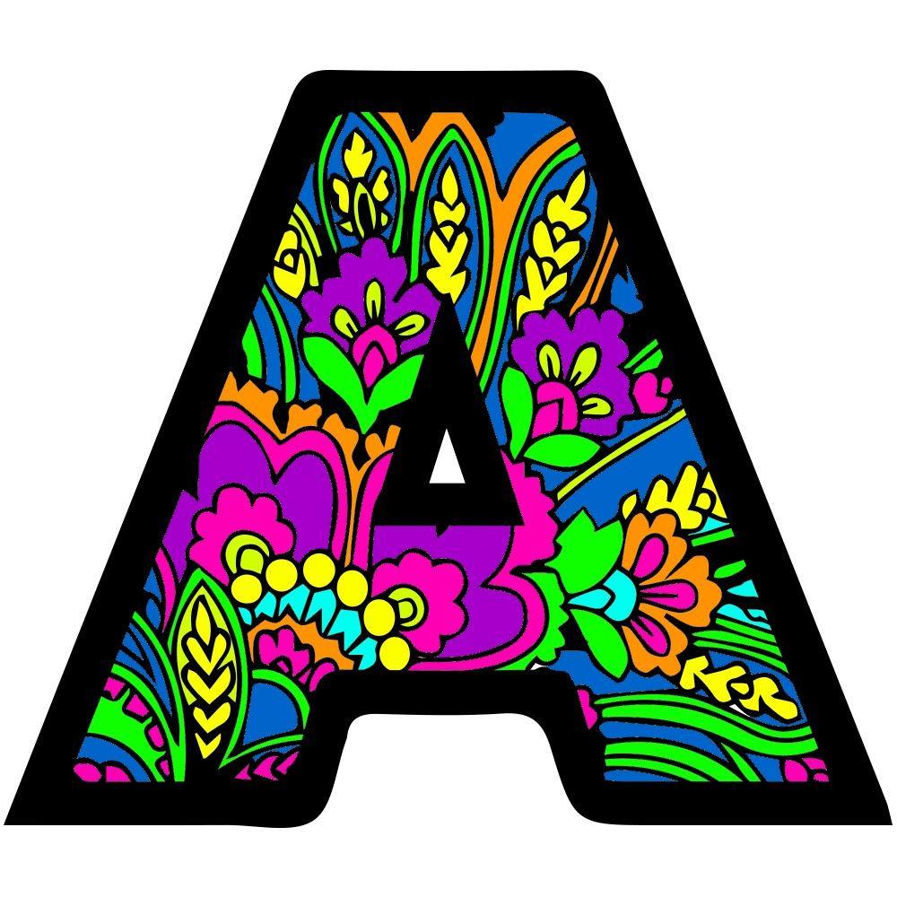 Buchstaben A Muster Letter Art Character Art Art