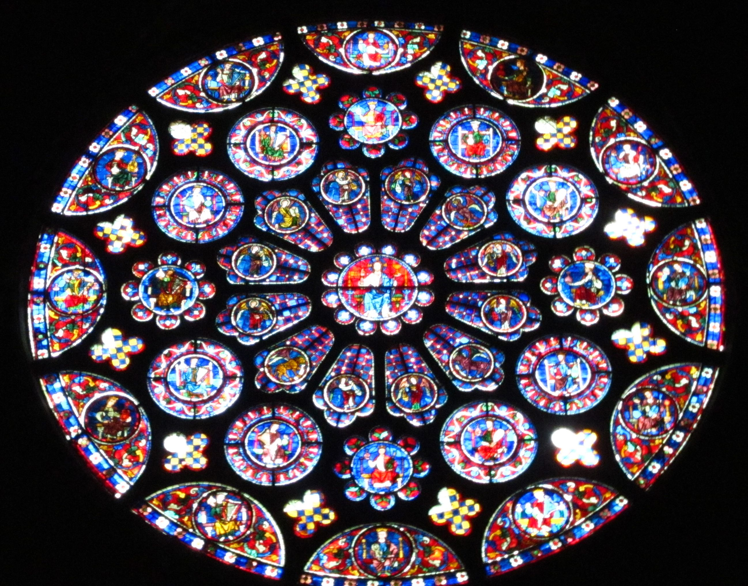 Chartres South Rose Ca 1225