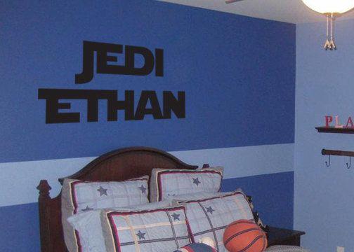 Starwars Jedi Personalized Monogram Vinyl By LittleCreekMarket, $32.00